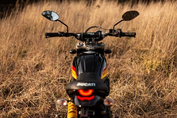 Ducati Scrambler Desert Sled Handlebars