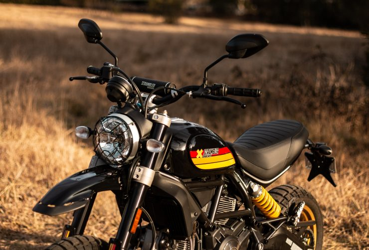 Ducati Scrambler Desert Sled Hero