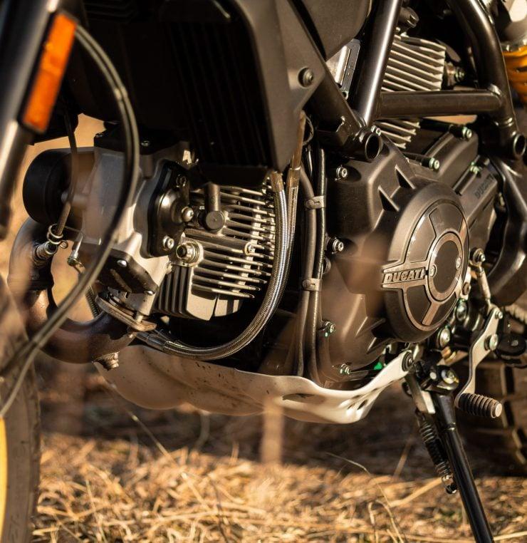 Ducati Scrambler Desert Sled Engine
