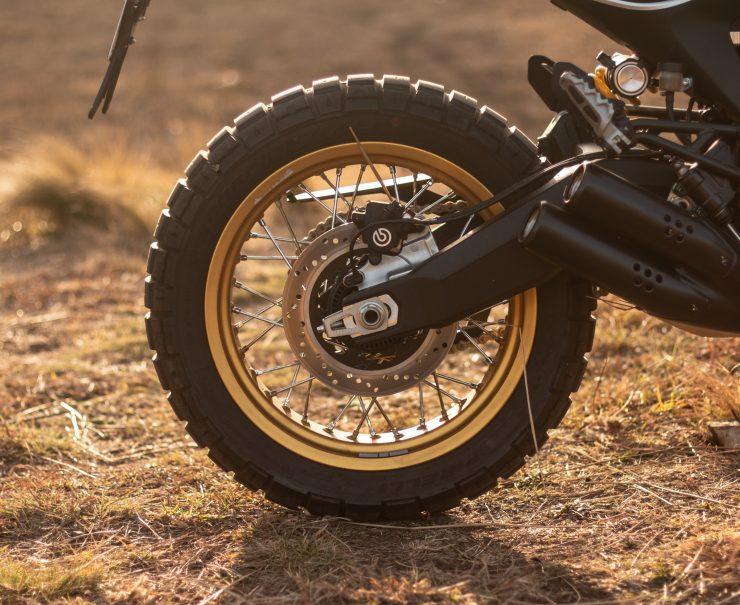 Ducati Scrambler Desert Sled Wheel