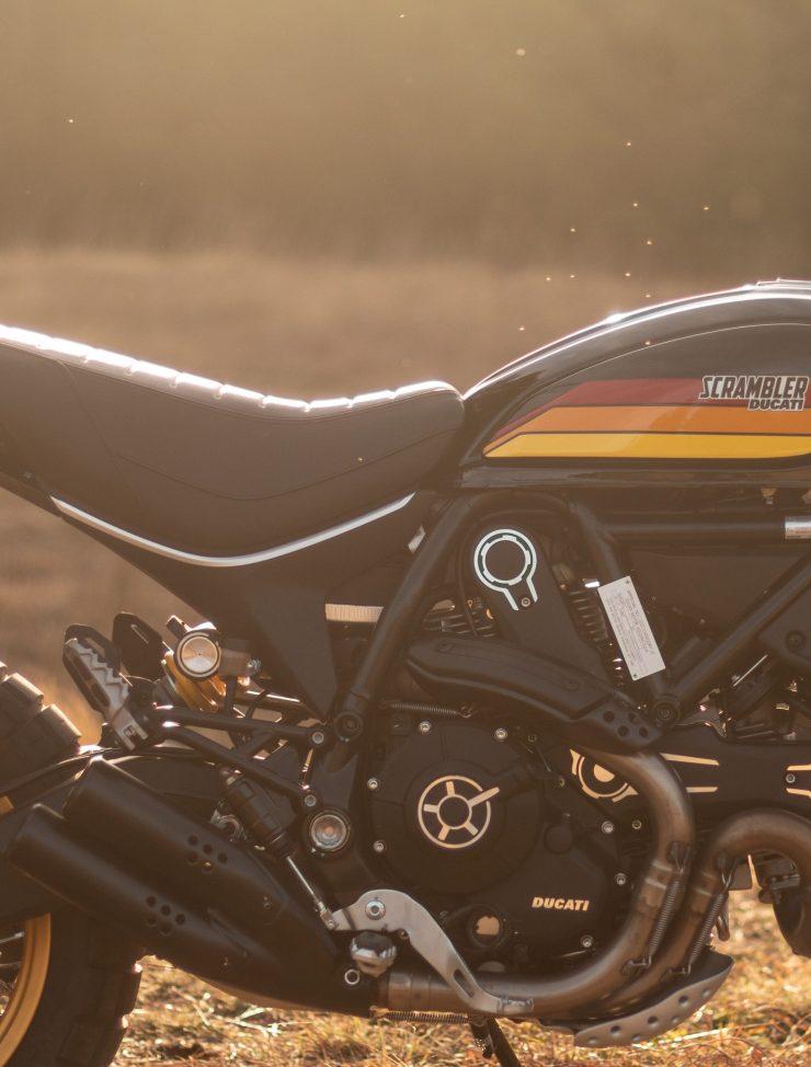 Ducati Scrambler Desert Sled Engine Frame