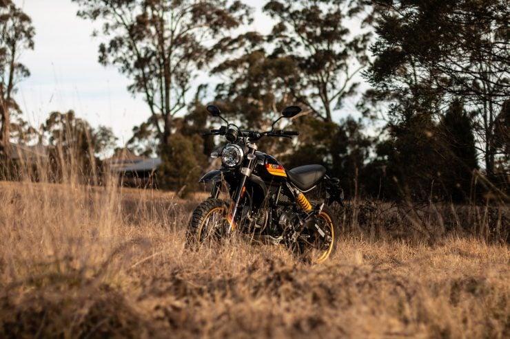 Ducati Scrambler Desert Sled Front
