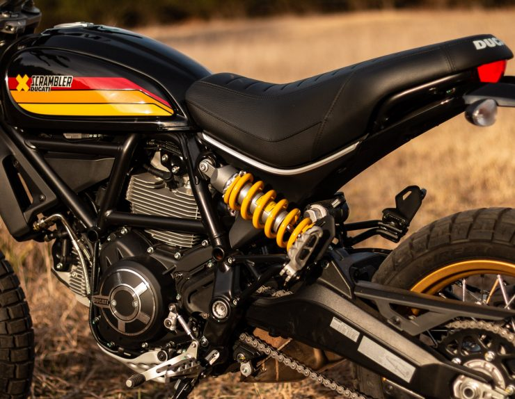 Ducati Scrambler Desert Sled Suspension