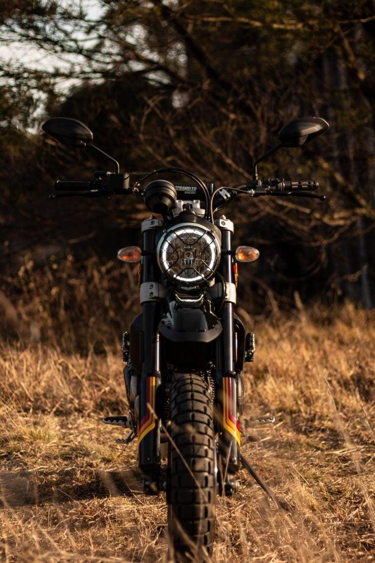 Ducati Scrambler Desert Sled Headlight