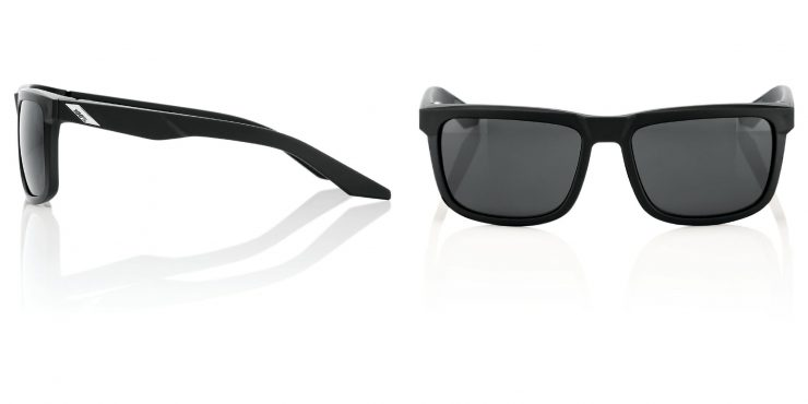 100% Blake Sunglasses - Impact-Resistant Motorcycle Eyewear Front and Side