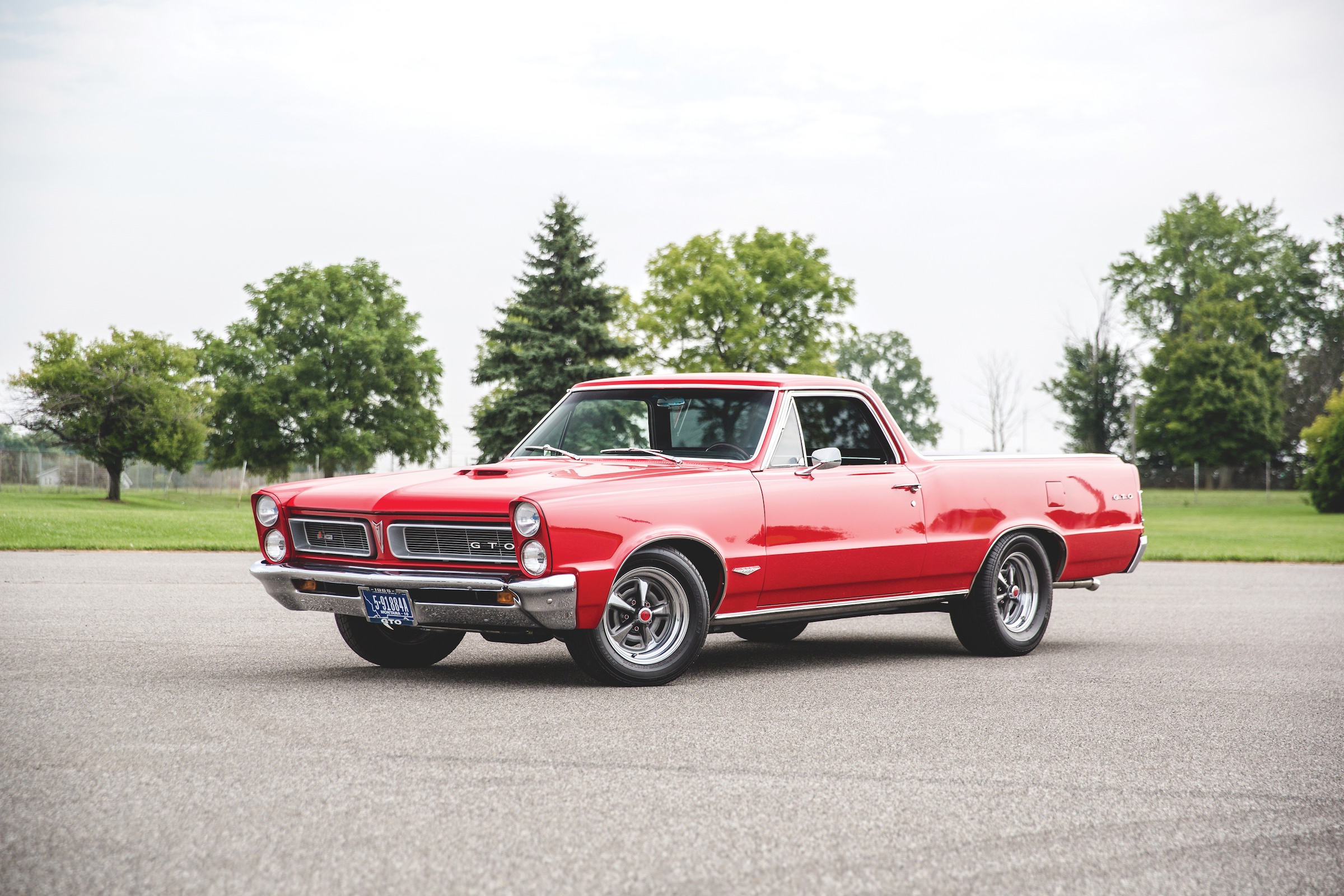 The Only One In The World A Pontiac Gto Chief Camino