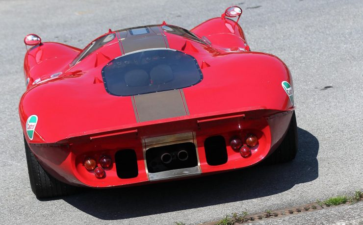 1968-69-Type Ford P68 F3L Prototype Racing Car Back