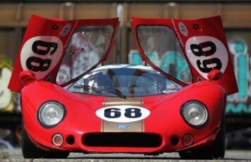1968-69-Type Ford P68 F3L Prototype Racing Car Doors Up