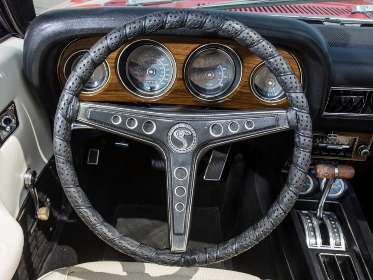 1969 Shelby GT500 Steering Wheel