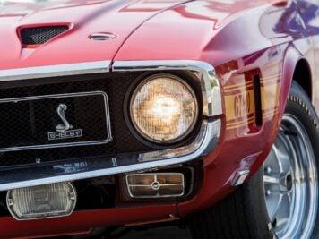 1969 Shelby GT500 Headlight