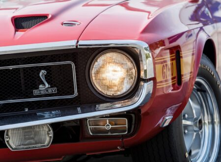 1969 Shelby GT500 Headlight