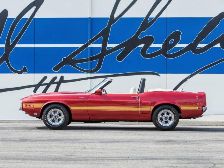1969 Shelby GT500 Left Side