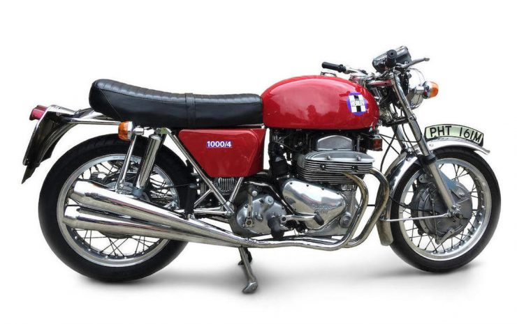 Healey 1000/4 /Ariel Square Four custom motorcycle