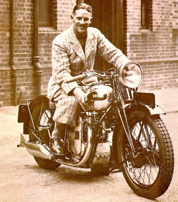 Ariel Square Four motorcycle