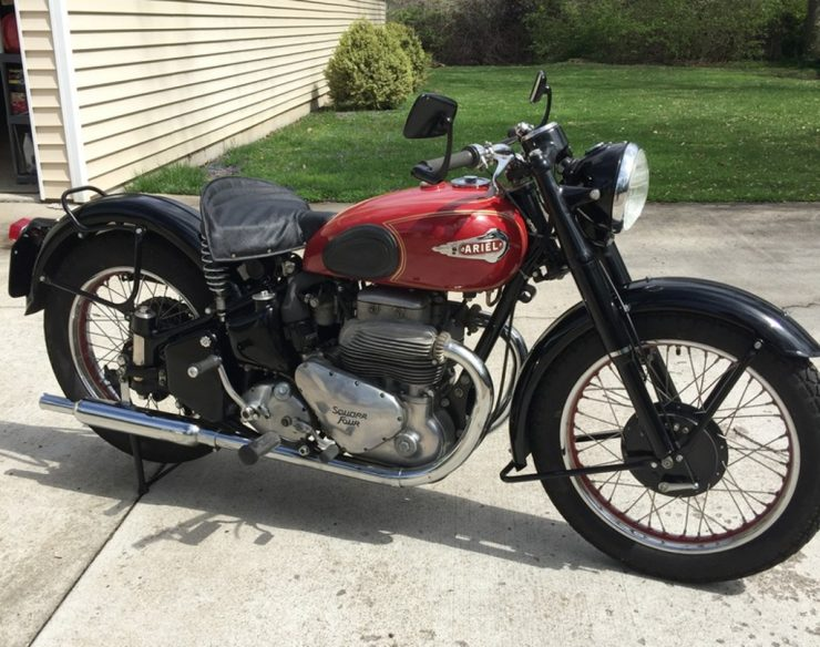 Ariel Mark II Square 4 motorcycle