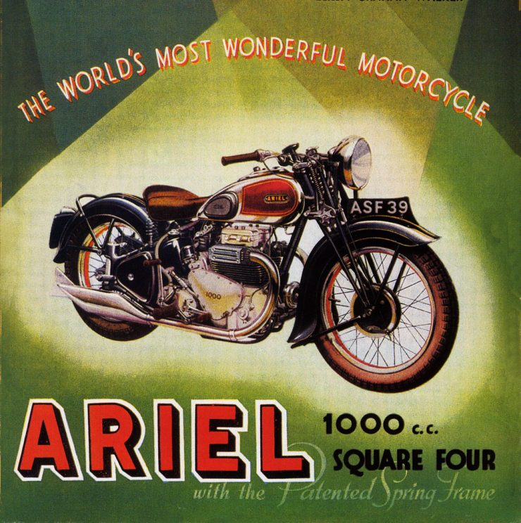 Ariel Square Four 4G motorcycle