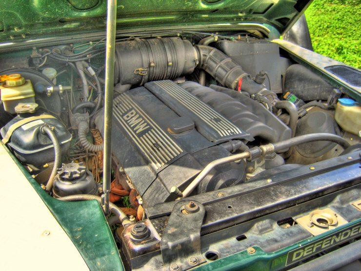 Land Rover Defender BMW 2.8i engine South Africa