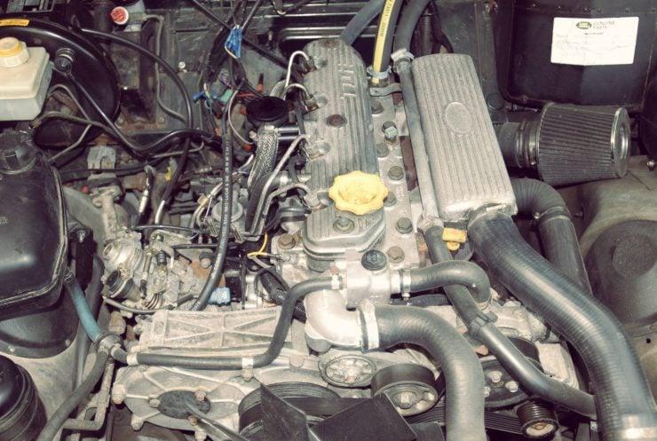 Land Rover Defender TDi diesel engine