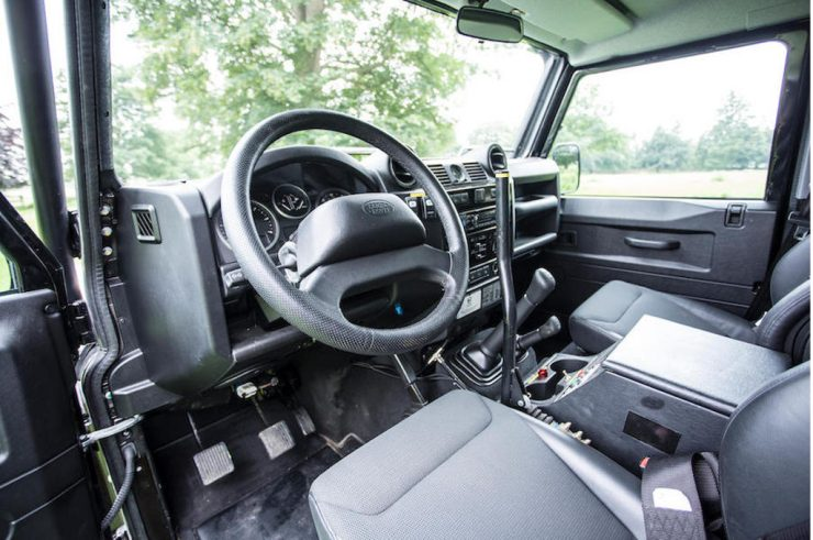 Land Rover Defender SVX Spectre interior