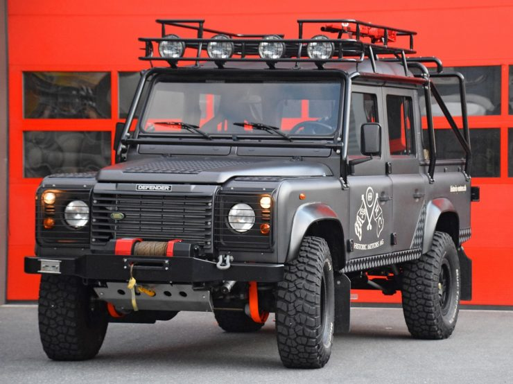 Land Rover Tomb Raider special edition
