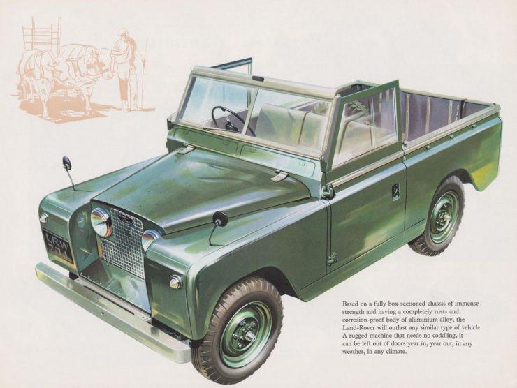 A Brief History of the Land Rover Series II