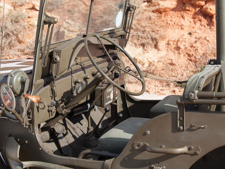Willys Jeep dashboard interior