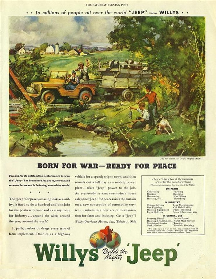 Willys Jeep advertisement