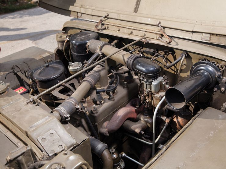 Willys Jeep Go-Devil engine