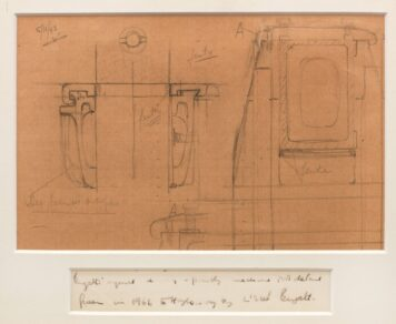 A Technical Drawing By Ettore Bugatti