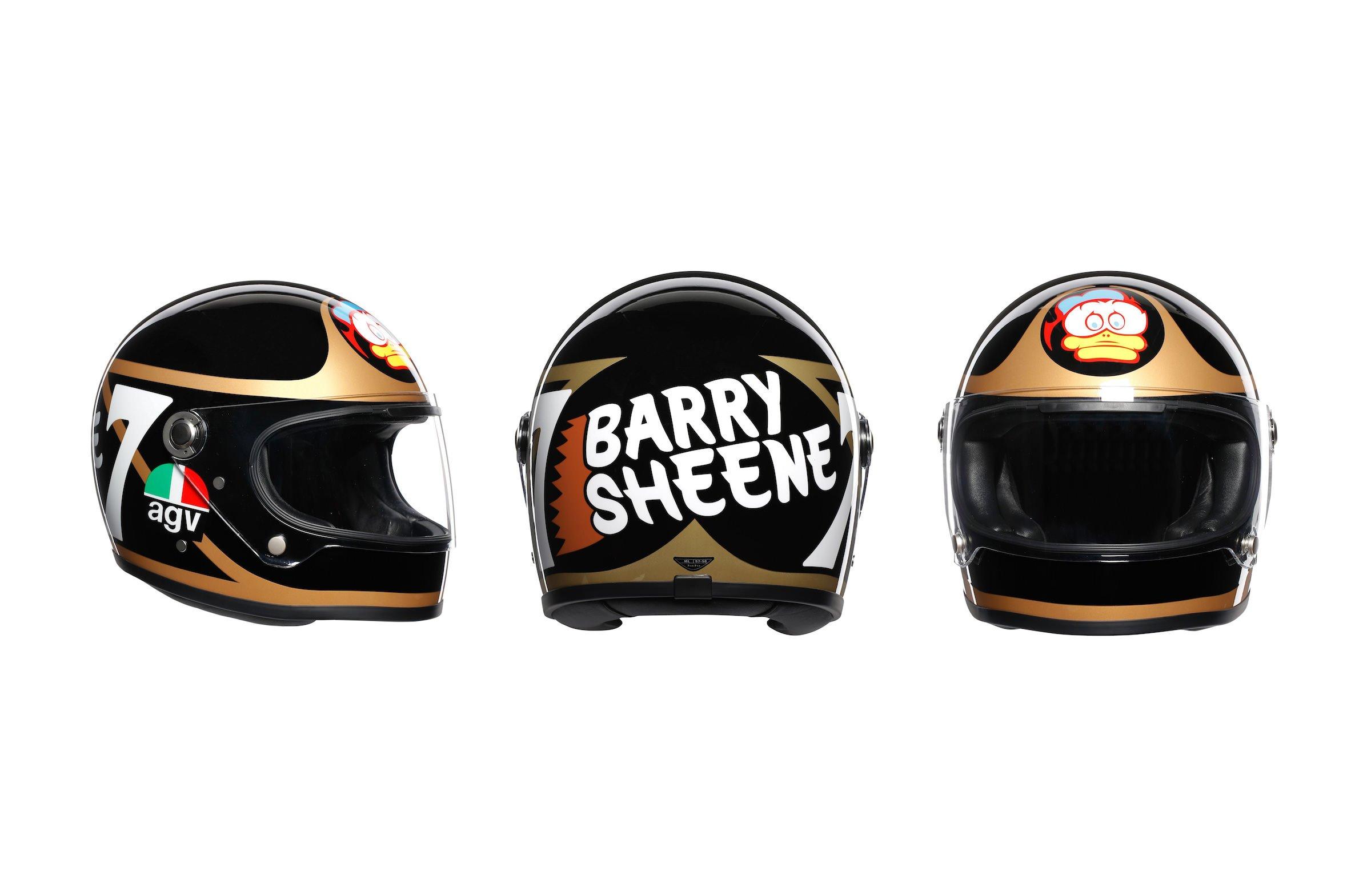 AGV X3000 Barry Sheene Helmets