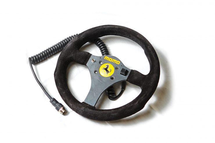 Alain Prost Ferrari 641 Formula 1 Steering Wheel