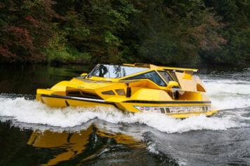 Amphibious Hydrocar