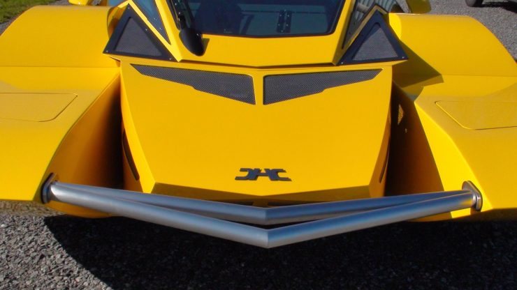 Amphibious Hydrocar Front 740x416 - The Amphibious Dobbertin HydroCar - A $1 Million Dollar 762 HP Boat/Car Hybrid
