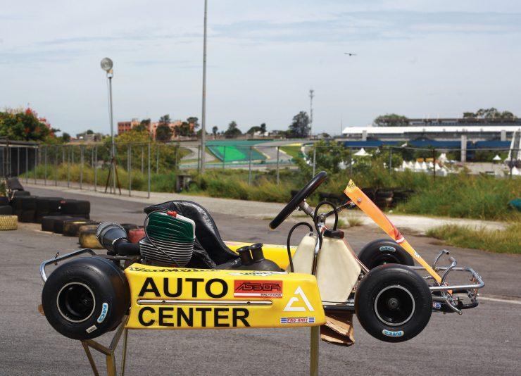 Ayrton Senna Go Kart 1