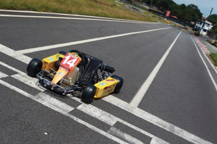 Ayrton Senna Go Kart 2