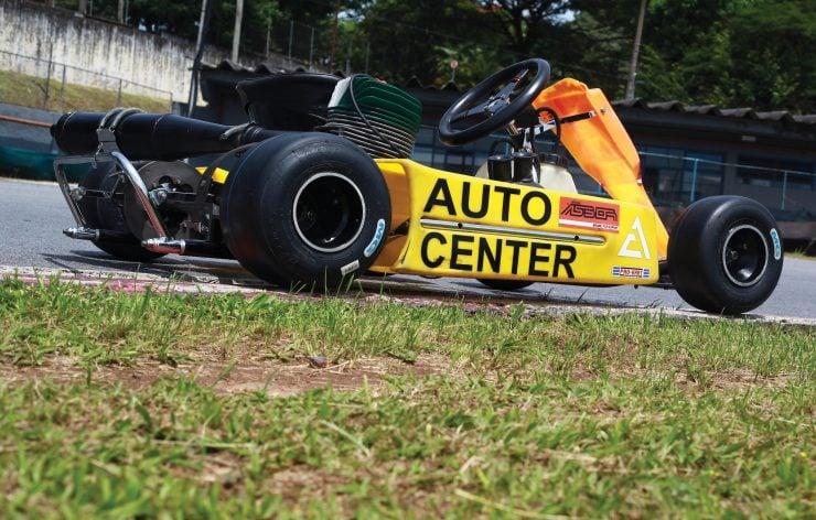 Ayrton Senna Go Kart 5