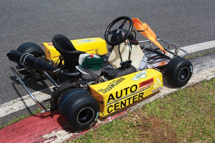 Ayrton Senna Go Kart