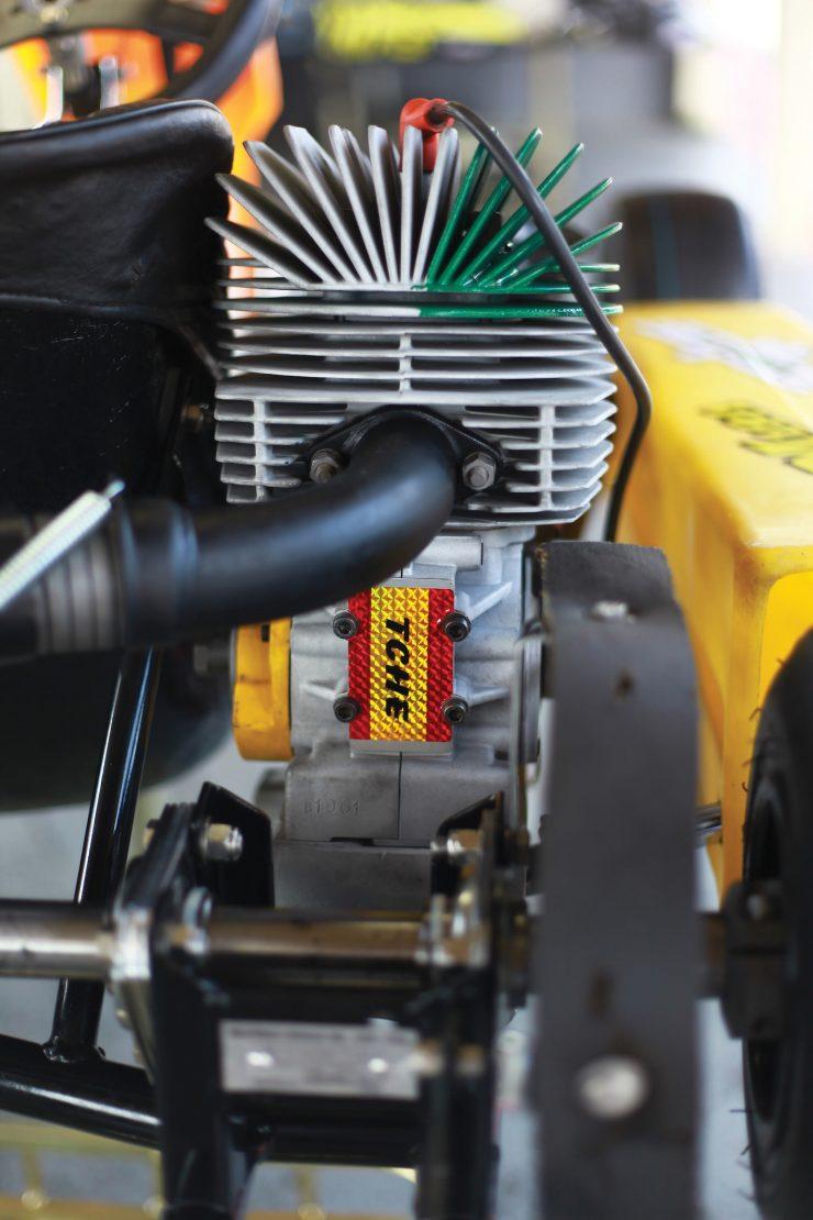 Ayrton Senna Go Kart Engine