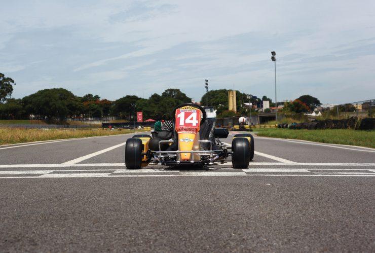 Ayrton Senna Go Kart Front