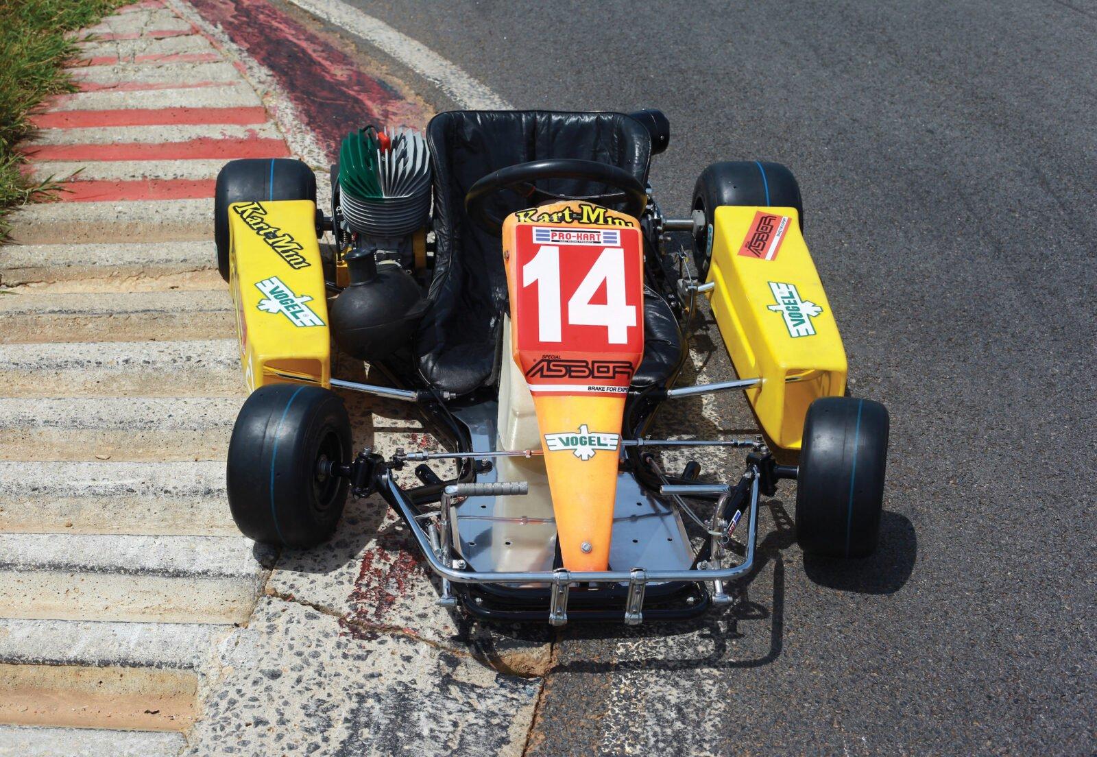 Ayrton Senna S Last Kart He Drove It 6 Weeks Before His Death