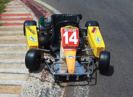 Ayrton Senna Go Kart Main