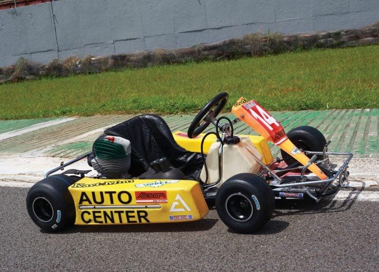 Ayrton Senna Go Kart Right Side