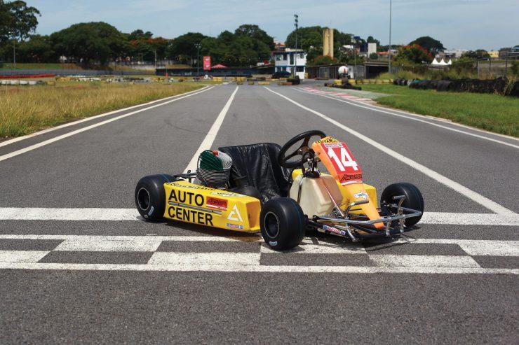 Ayrton Senna Kart 740x493 - Ayrton Senna's Last Kart - He Drove It 6 Weeks Before His Death