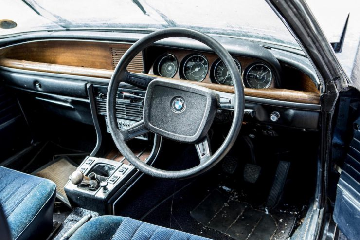 BMW 3.0 CSi Steering Wheel