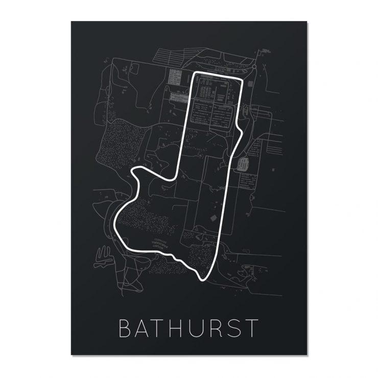 Bathurst Track Map
