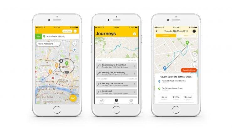 Beeline Moto GPS App