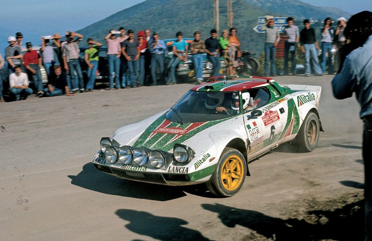 Björn Waldegård Lancia Stratos 1