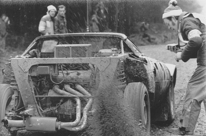 Björn Waldegård Lancia Stratos 2