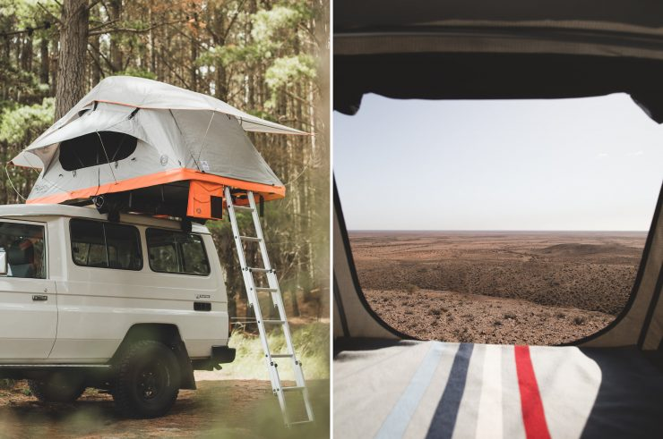 Crow's Nest Two-Person Rooftop Tent by Feldon Shelter 1