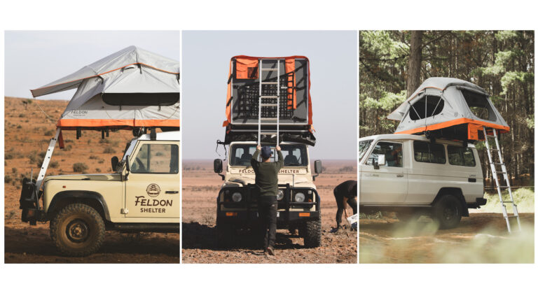 Crow's Nest Two-Person Rooftop Tent by Feldon Shelter Co.